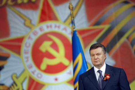 El Presidente Yanukovich durante su juventud política. | Foto: Ria Novosti