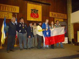 Premiación de las Olimpiadas 2013, realizadas en el Instituto Nacional.