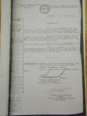 Decreto Nº 618 que añade el nombre de General José Miguel Carrera. Pincha la imagen para verla en grande.