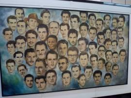 Los rostros de los mártires caídos durante el asalto al Moncada.