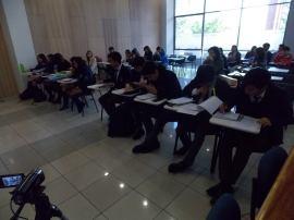 El juicio simulado más duro se desarrolló entre el Carmela Carvajal y nuestro colegio, un verdadero clásico escolar.